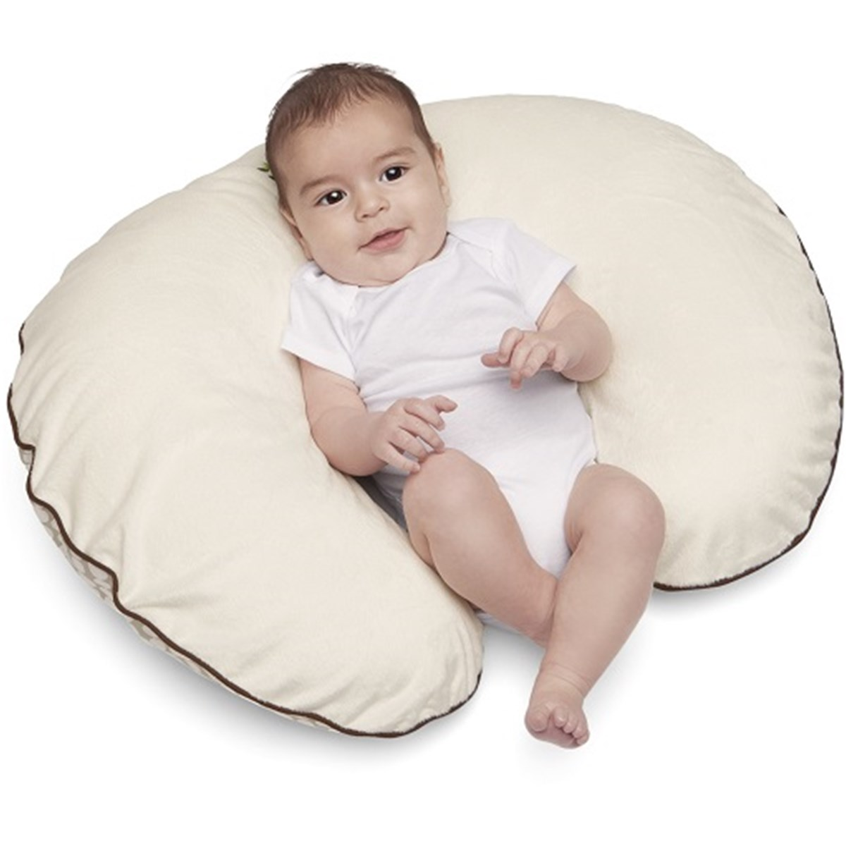 boppy baby chair green marbles dental upholstery feeding and infant support pillow
