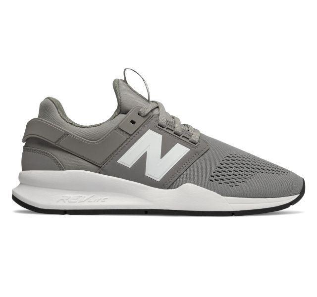 BabyShopHK. P4U 5中: New Balance 男款247潮鞋 灰色