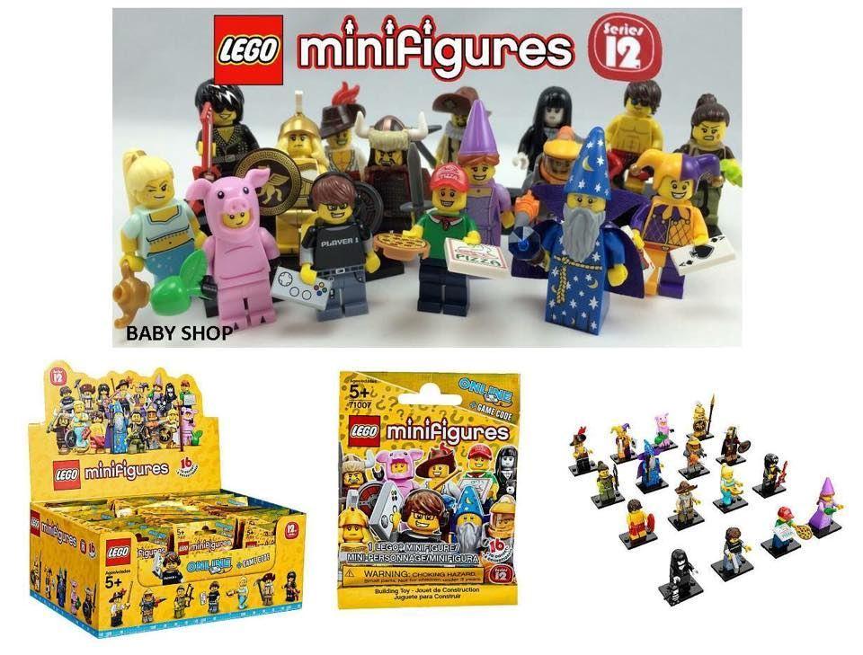 BabyShopHK. 開倉 : Lego MiniFigures Series 12 (隨機)
