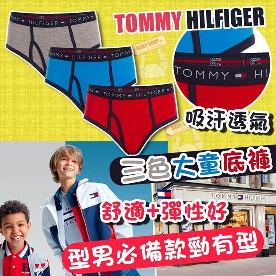 BabyShopHK. **貨品已截單**A P4U 12底: Tommy Hilfiger 大童款三角內褲 (一套三條)
