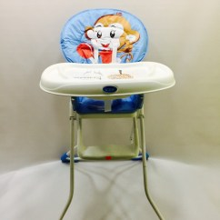 Restaurant High Chair With Tray White Resin Padded Seat Buy Baby Feeding Dining Online Nepal