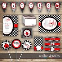 Ladybug Themed Baby Shower - Baby Shower Ideas - Themes ...
