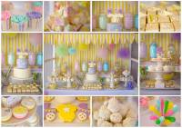 Fairy Floss Pastel Baby Shower - Baby Shower Ideas and Shops