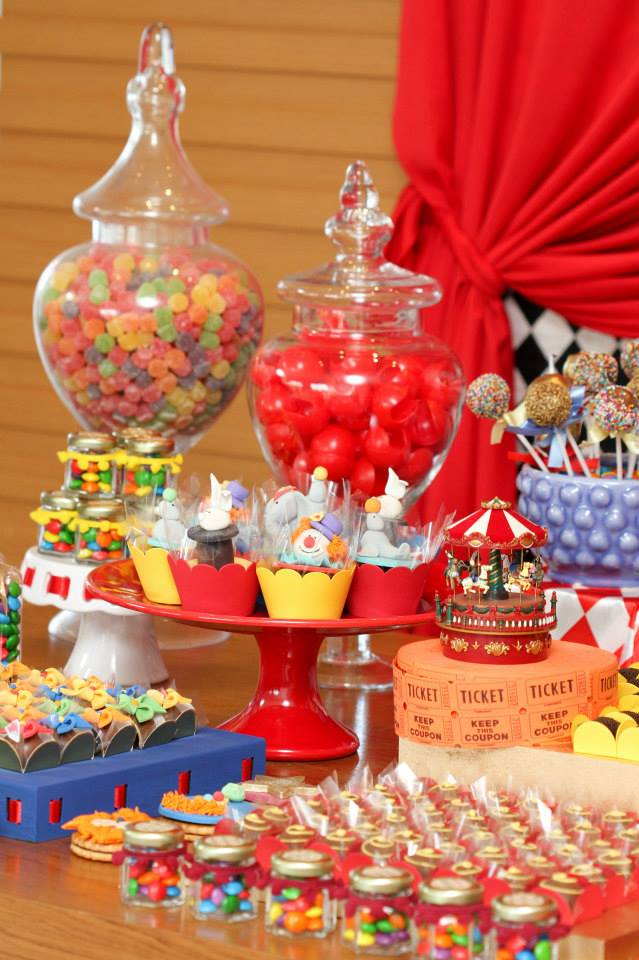 Circus  Carnival Theme Party  Baby Shower Ideas  Themes