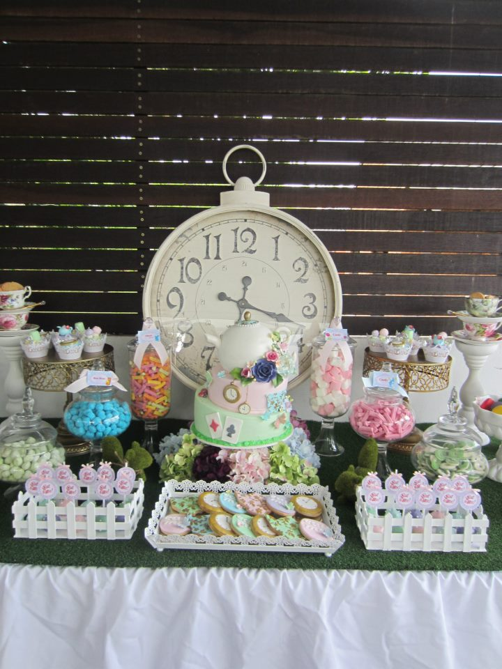 Alice in Wonderland Party  Baby Shower Ideas  Themes  Games