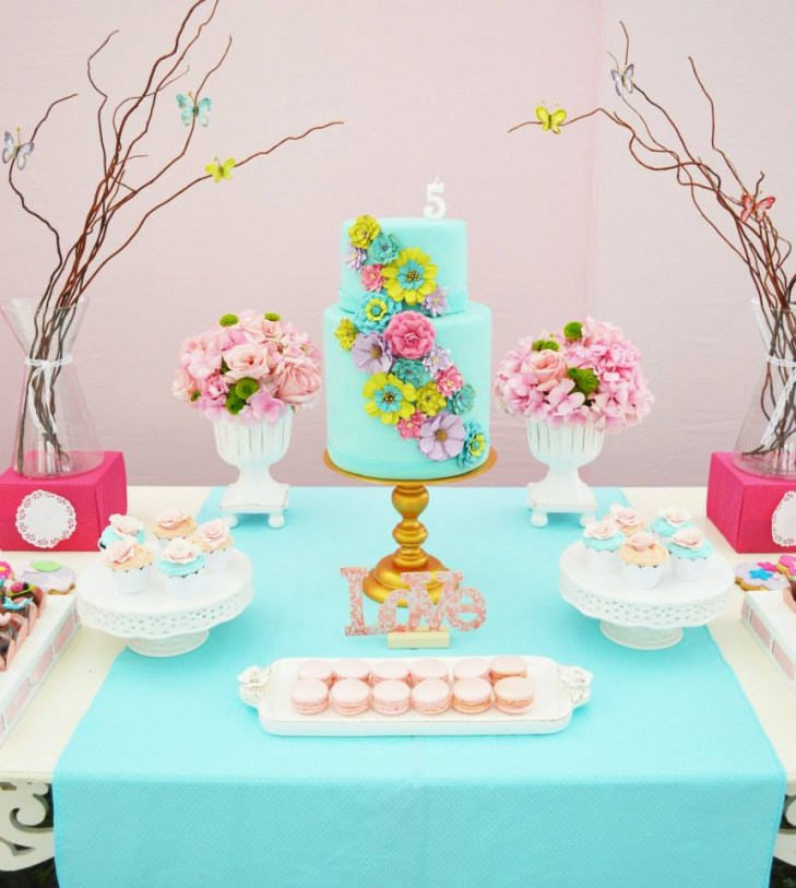 ... Perfect Enchanted Garden baby shower ideas via baby shower ideas and  shops dessert bar ...