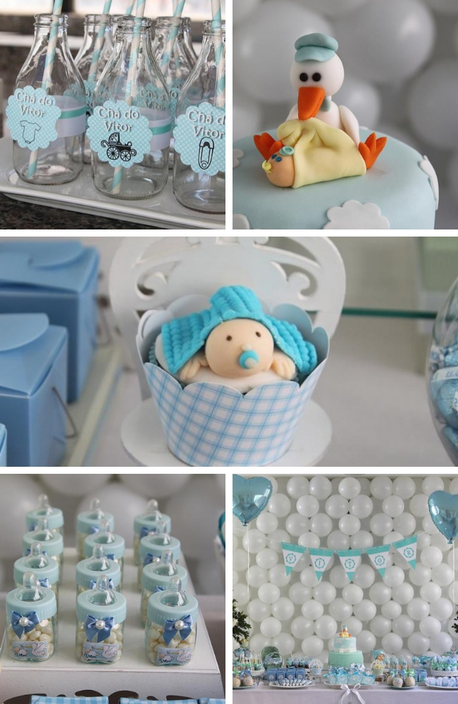 Sweet Little Boy Baby Shower Party Baby Shower Ideas