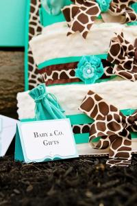 Tiffany & Co Baby Shower - Baby Shower Ideas - Themes - Games