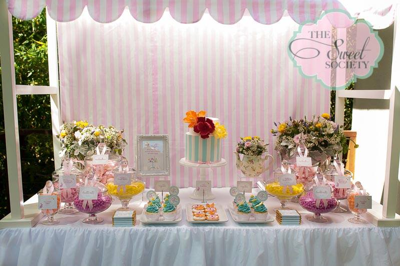 Whimsical Wonderland Garden Party Baby Shower Ideas Themes Games