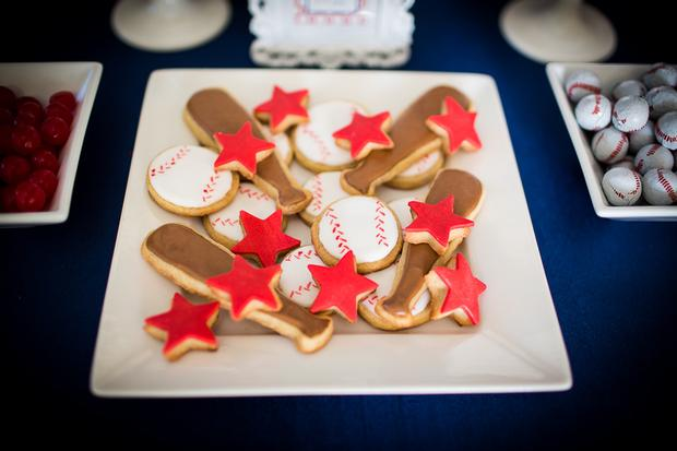 She Even Includes The Super Cute Baseball Themed Baby Shower Everything Is Just Perfect