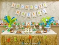 Dinosaur Themed Baby Shower - Baby Shower Ideas - Themes ...