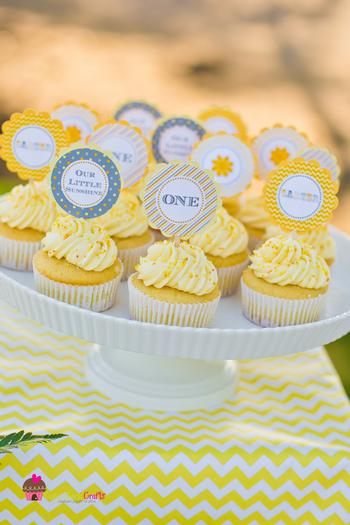 You are my Sunshine Chevron Party  Baby Shower Ideas