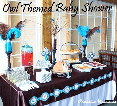 Taboo And Jaymie Celebrate With A Blue Brown Baby Shower