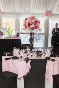 Pink Parisian Themed Baby Shower - Baby Shower Ideas ...