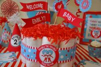Dr Seuss Twin baby shower theme - Baby Shower Ideas ...