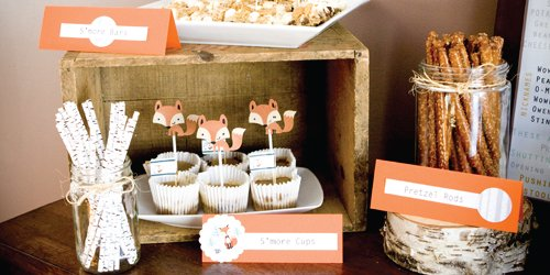 Fox Baby Shower Theme Ideas  Baby Shower Ideas  Themes