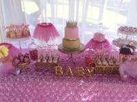 little princess baby shower cake, Tutu and Tiara Baby