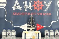Ahoy! Nautical Baby Shower - Baby Shower Ideas - Themes ...