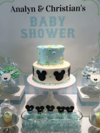 Baby Mickey Mouse Baby Shower - Baby Shower Ideas