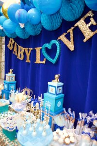 Royal Blue Baby Shower Theme | www.imgkid.com - The Image ...