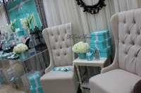 Tiffany Themed Baby Shower seats - Baby Shower Ideas ...