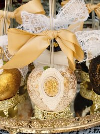Vintage Victorian Baby Shower dessert table treats - Baby ...