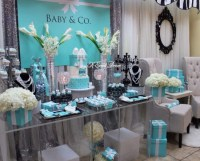 Tiffany Themed Baby Shower - Baby Shower Ideas - Themes ...