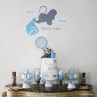 Elephant Baby Shower Centerpieces Ideas