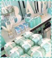 Tiffany Baby Shower - Baby Shower Ideas - Themes - Games