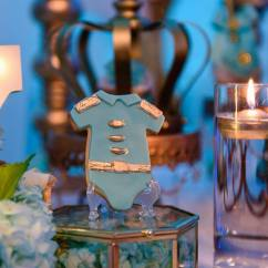 Baby Blue Chair Covers Chairs Target Golden Glamorous Prince Shower - Ideas Themes Games