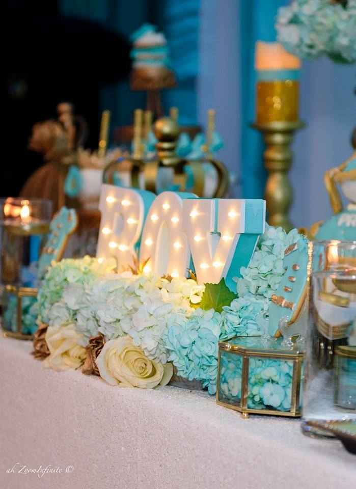 Golden Glamorous Prince Baby Shower  Baby Shower Ideas