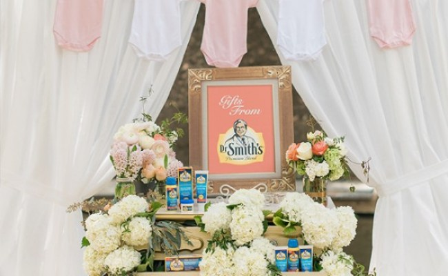 Floral Chic Outdoor Baby Shower Baby Shower Ideas