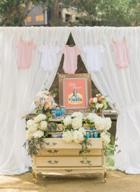 Floral Chic Outdoor Baby Shower - Baby Shower Ideas ...