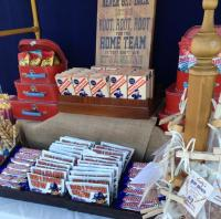Vintage Style Baseball Baby Shower - Baby Shower Ideas ...