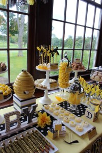 Blissful Bumble Bee Baby Shower
