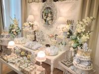 Charming Silver Blue Sky Baby Shower - Baby Shower Ideas ...