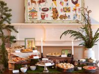 whimsical-woodland-coed-baby-shower-food-buffet - Baby ...