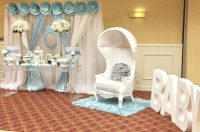 Blue And White Elephant Themed Baby Shower - Baby Shower ...
