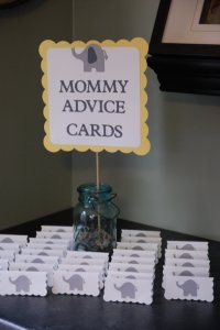 Elephant Baby Shower Decorations and Party Favors - Baby ...