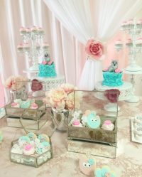 Peach And Blue Owl Baby Shower - Baby Shower Ideas ...