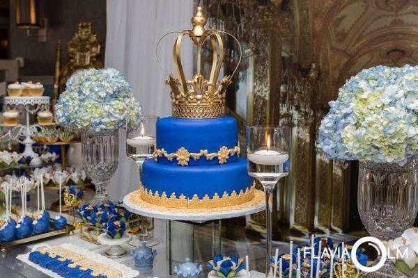 Royal Blue And Gold Prince Shower  Baby Shower Ideas  Themes  Games
