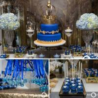 Royal Blue And Gold Prince Shower - Baby Shower Ideas ...