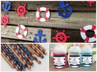 Nautical baby Shower Decorations and Party Favors - Baby ...