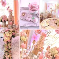 Pretty Pink and Floral Baby Shower - Baby Shower Ideas ...