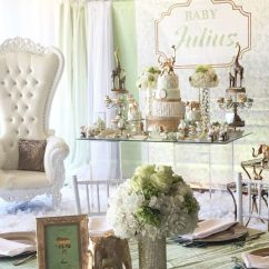 Baby Shower Chair Decorations Best Hunting Chairs For Ground Blinds Golden Glam Safari - Ideas Themes Games