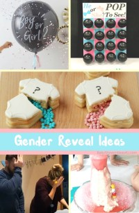 Top 12 Gender Reveal Ideas - Baby Shower Ideas - Themes ...