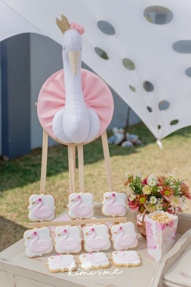 Sweet Swan Princess Shower Baby Shower Ideas Themes