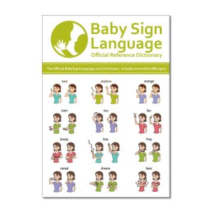 Baby Sign Language Dictionary Cover