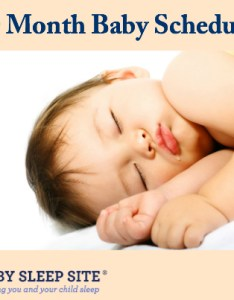 month old baby schedule also the sleep site toddler rh babysleepsite