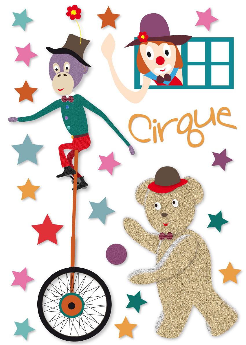 Sticker Cirque Bb Mixte